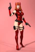 Crimson Valkyrie by Member9 by CrimsonVlkyrie