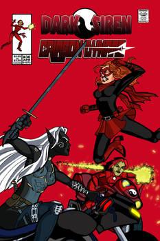 Siren and Crimson - Comic Cover