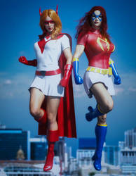 E23 - Crimson and Mindy - Defenders of Steel City