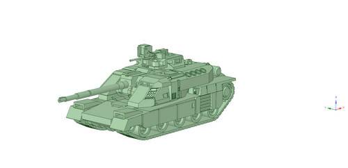 SF battle tank