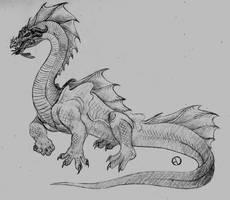 Retrosaur Challenge 12: Transitional Tyrant by SaurArch