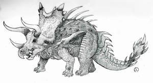Retrosaur Challenge 26: Rivals Part 2 Herbivore by SaurArch