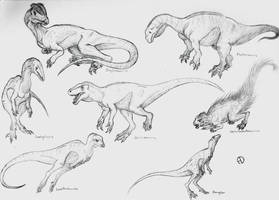 Dinosaur Phylogeny: Early Dinosaurs by SaurArch