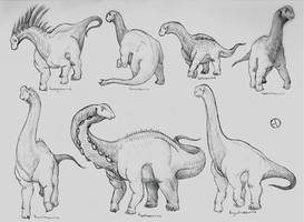 Dinosaur Phylogeny: Sauropods by SaurArch