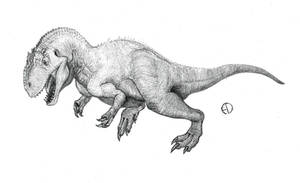 Allosaurus by SaurArch