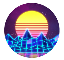 +| Vaporwave [Stamp #4] |+ by Sweet-Game