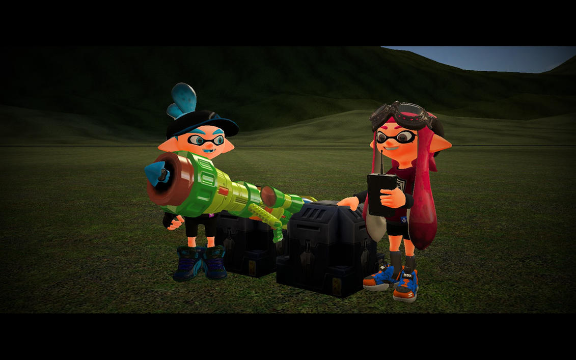 The Squid Cannon by BrokenNooby64