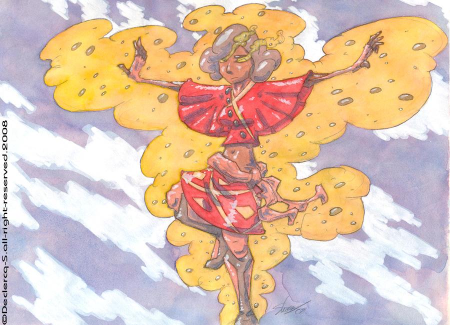 Superheroic Girl color