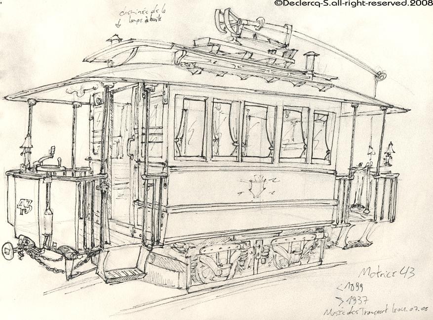 Sketch - motrice 43