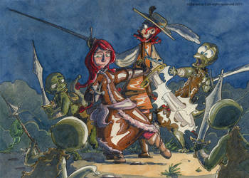 combat de meduses by Stephane-81
