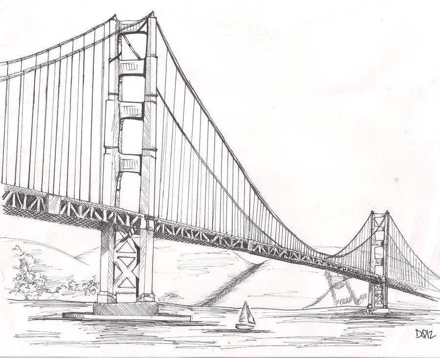 golden gate bridge by depp800 on DeviantArt