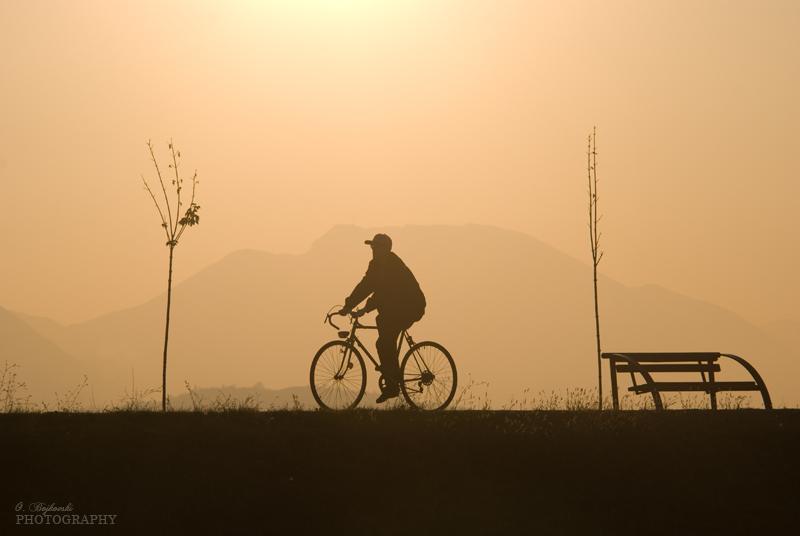 The Lone Rider by Bojkovski