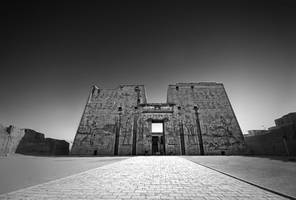 The Temple of Horus by Bojkovski