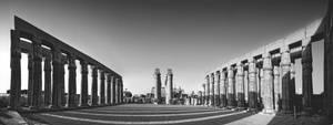 Luxor Temple by Bojkovski
