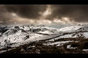 Dark Frozen World by Bojkovski