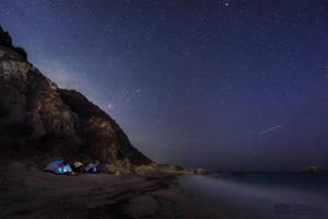 Under the starry sky by Bojkovski