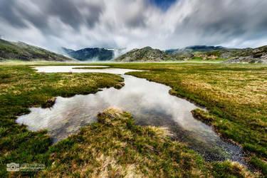The Mystic Mountains by Bojkovski