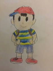 Ness from Earthbound by JaRa02