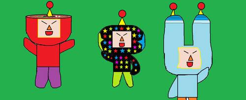 Miso, Dipp, and Foomin by JaRa02
