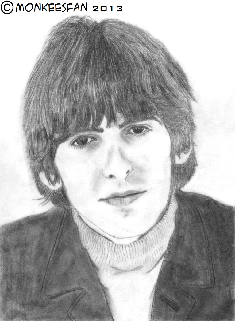 George Harrison 1966 By ThePeculiarMissE