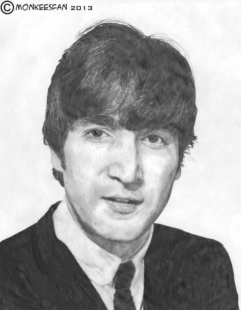 John Lennon, 1964 by ThePeculiarMissE