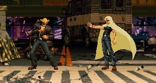 Dross vs El Troll en The King of Fighters by nikitoelmalo