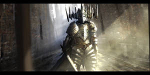 Distant Knight of a Forbidden Past by NJPoulin