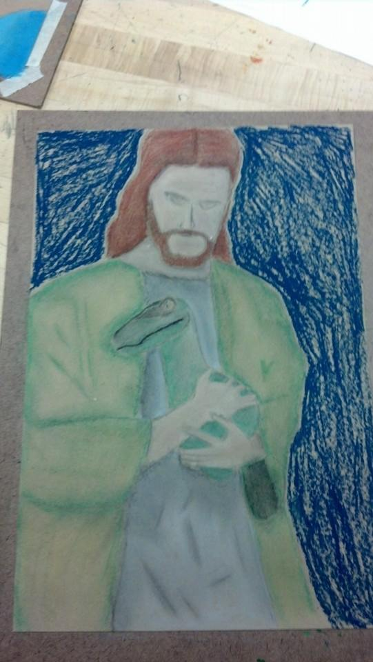 Christmas Competition Raptor_jesus_by_feircedeity64-d6usj4v