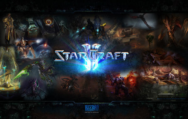 Starcraft 2 Wallpaper by DarkAngelKalas