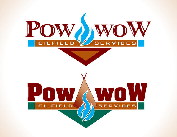 pow wow oilfield services logo by eyeh8art on deviantart rh eyeh8art deviantart com oilfield logos for business cards oilfield logistics