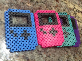 Gameboy Advance Perler by NinjaQtee