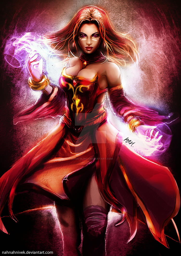 lina inverse by kevinglint on deviantart
