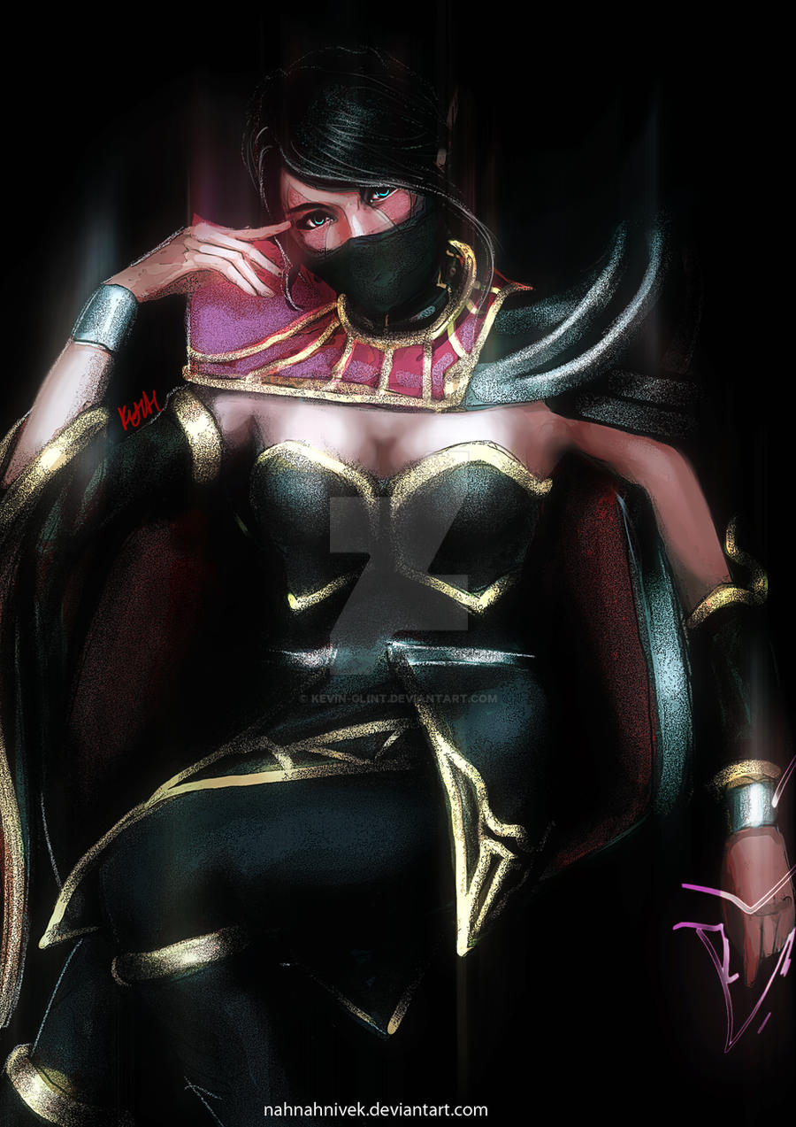 DotA 2 Templar Assasin by nahnahnivek