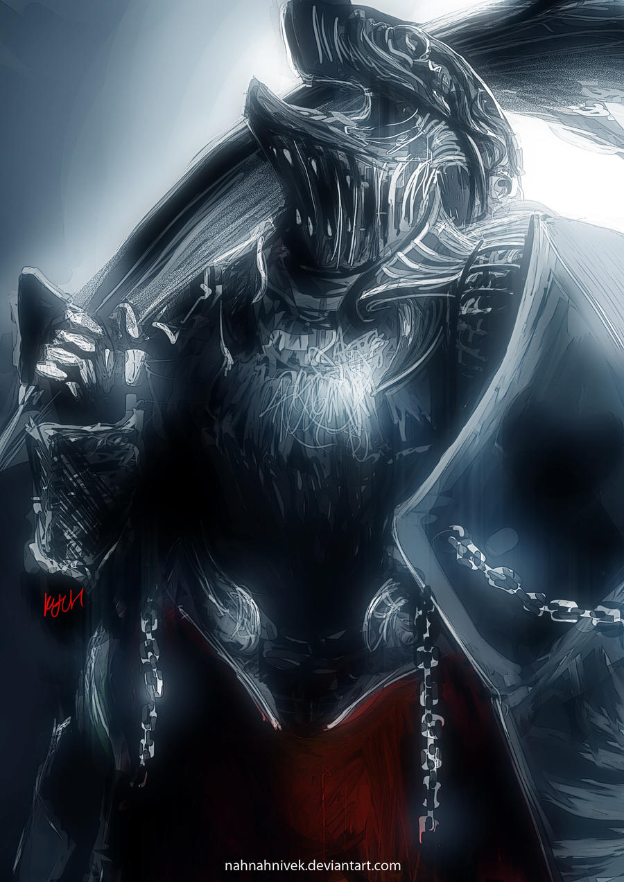 Dark Souls - Havel's custom by nahnahnivek