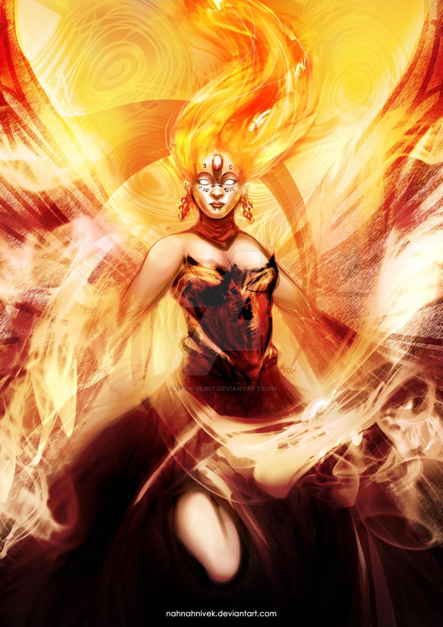dota 2 lina fiery slayer by kevin glint on deviantart