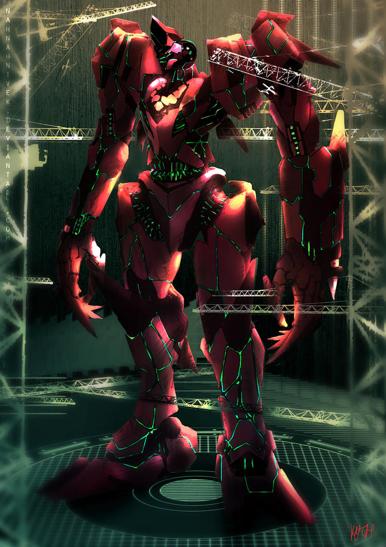 Pacific Rim - The Red Queen, Sarawak's Jaeger by ... Pacific Rim Hammerhead