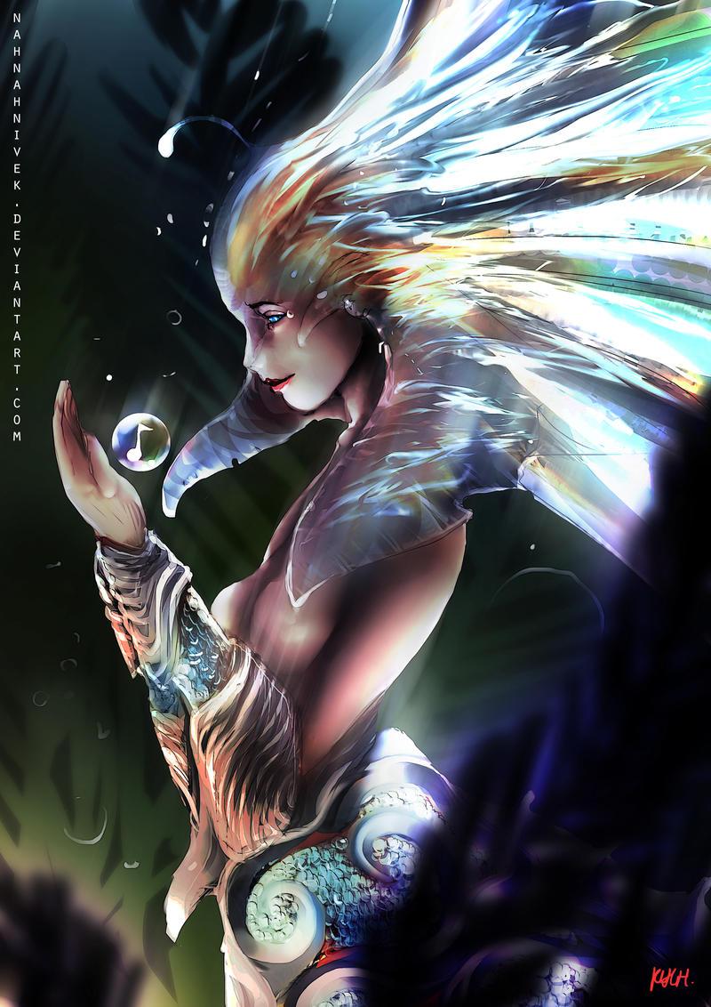 Dota 2 - Little Naga Siren by Kevin-Glint