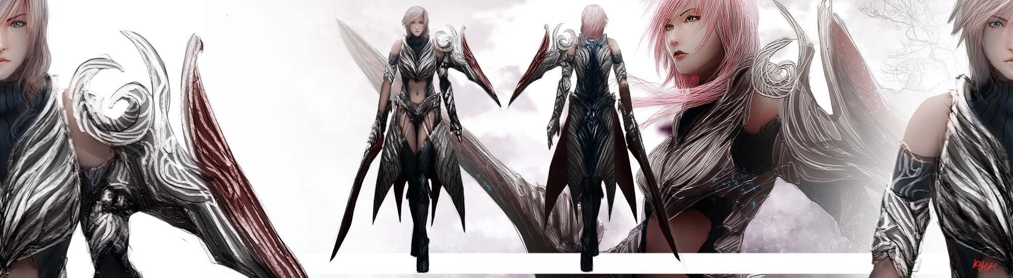 Lightning Returns - FFXIII Swift Wind Design by nahnahnivek