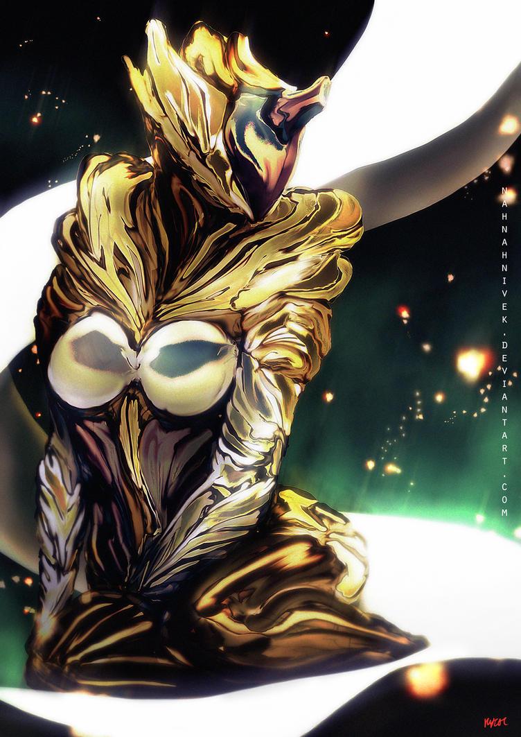 Gold Saryn by Kevin-Glint