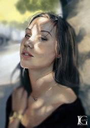 Portrait Study 14 by Kevin-Glint