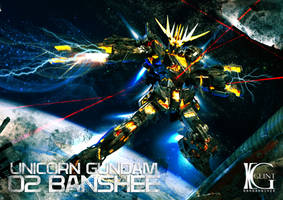 BANSHEE Gundam by Kevin-Glint