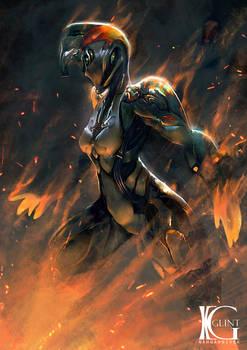 Warframe - Fiery Blaze
