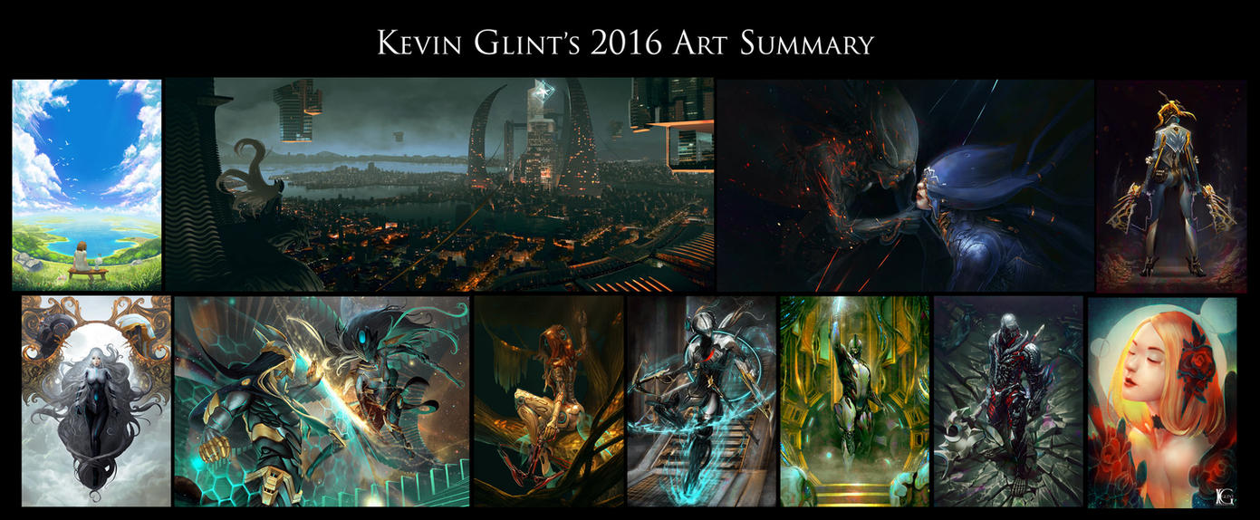 2016 Art Summary by Kevin-Glint