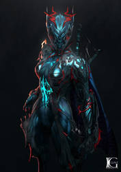 Commission - Valkyr Prime by Kevin-Glint