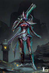 Commission - Anodyne Banshee Prime by Kevin-Glint