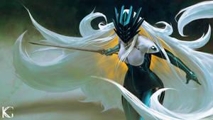 White Haired Huntress