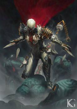 Commission - Ash Prime