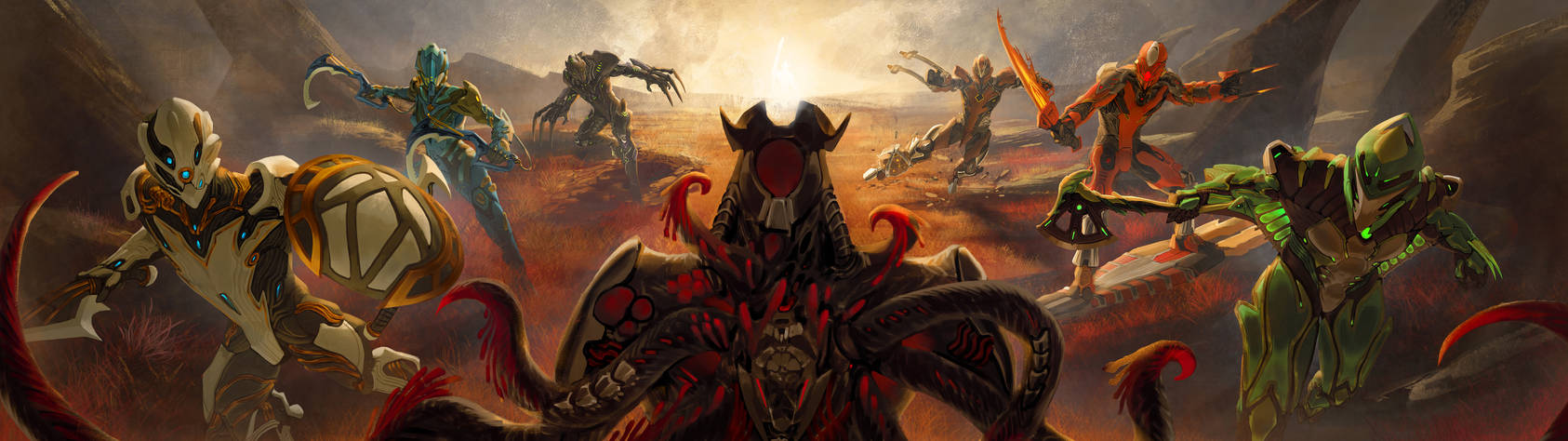 Warframe Bionicle crossover