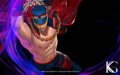 Street Fighter Ed Commission by Kevin-Glint