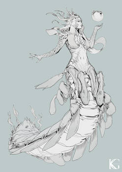 Mantis Shrimp Girl by Kevin-Glint